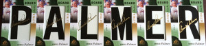 2014-SP-Game-Used-Golf-Leaderboard-Letter-Marks-Arnold-Palmer-Full-Set-Nameplate