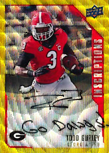 2015-Upper-Deck-Inscriptions-Todd-Gurley-Georgia-RB-Go-Dawgs-Autograph-Rookie-Card